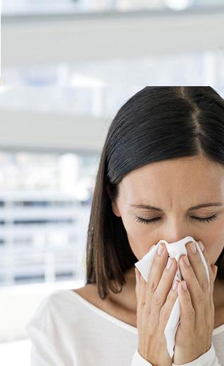 Кто-то в семье страдает аллергией?